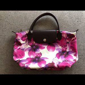 Longchamp orchid tote